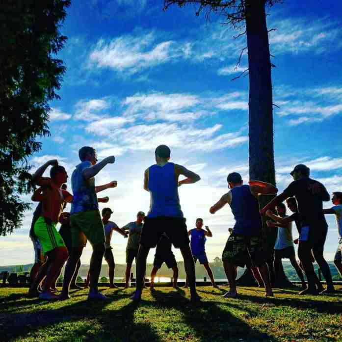Learn the Maori haka at Lake Aniwhenua - Stray New Zealand