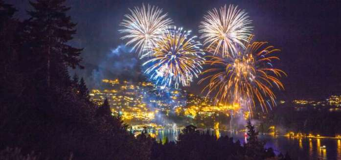 Queenstown New Years Eve fireworks