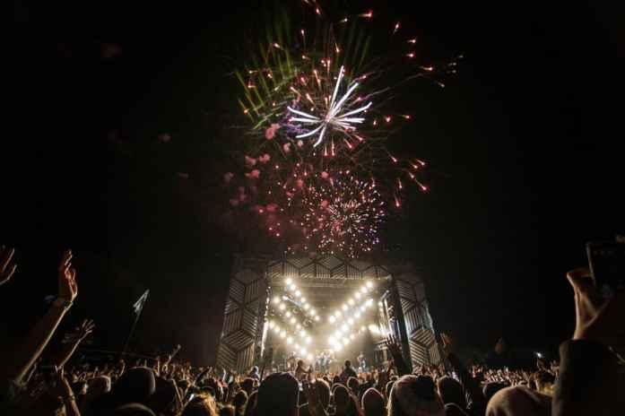 Rhythm & Alps New Years Eve fireworks