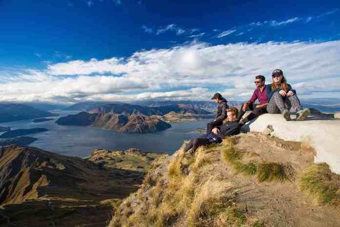 Stray NZ - Wanaka - climb to the top of Roys Peak