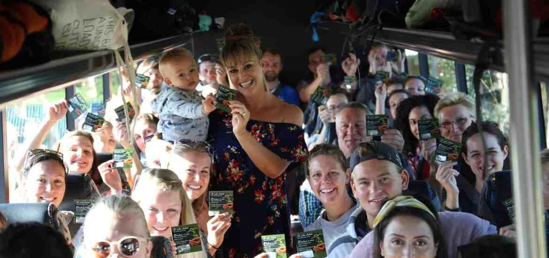 Kohutapu Lodge & Stray New Zealand group - planting the seeds of positivity