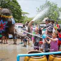 Celebrate Songkran in South East Asia!