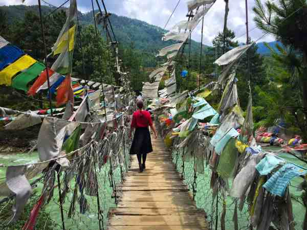 Bhutan Bumthang Bridge