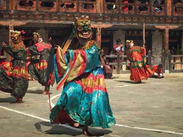 Bhutan Festival Paro