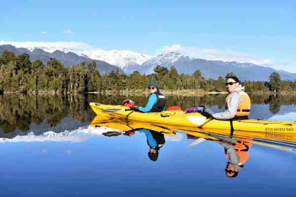 Glacier Country Kayaks unbeatable views