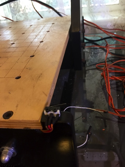 Zenbot Y-Axis Limit switch