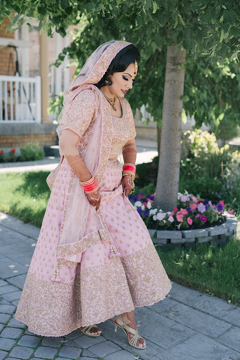 Indian bride hindu ceremony Ascott Parc Wedding Toronto Wedding Photographers Strokes 3