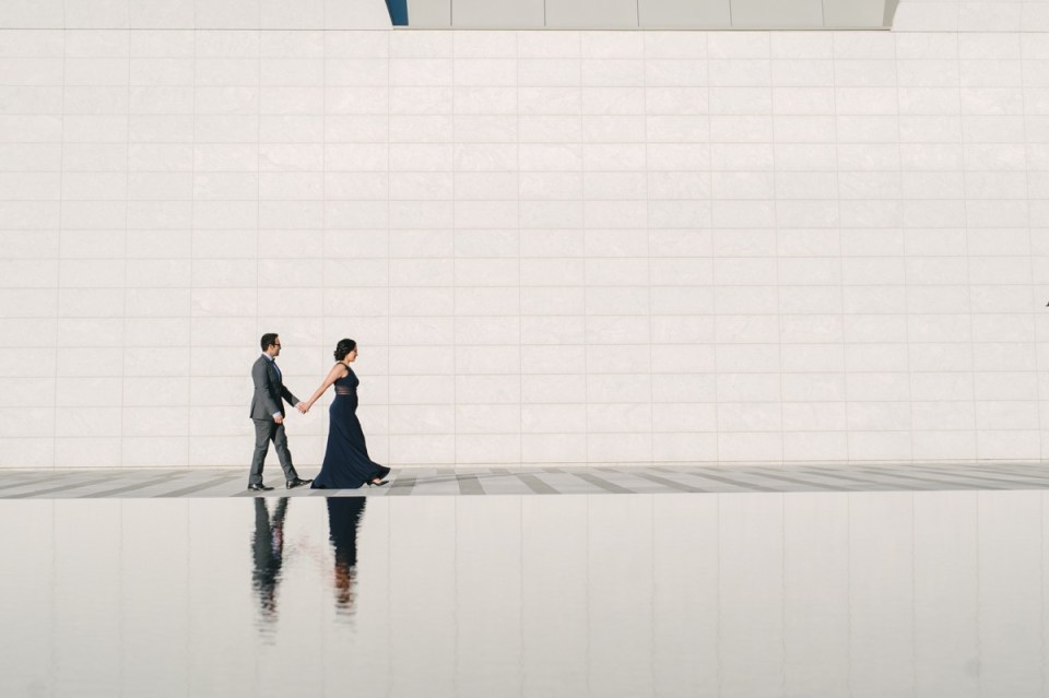 aga khan museum engagement session photos