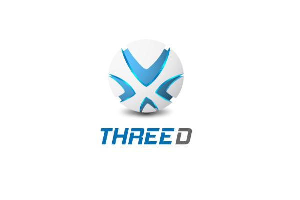 Three D Logo