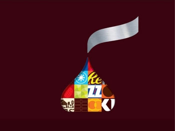 Hereshey new symbol - part of the logo redesign
