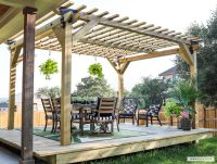 DIY: You Can Have a Cool Floating Deck: Part 1 - Building ...