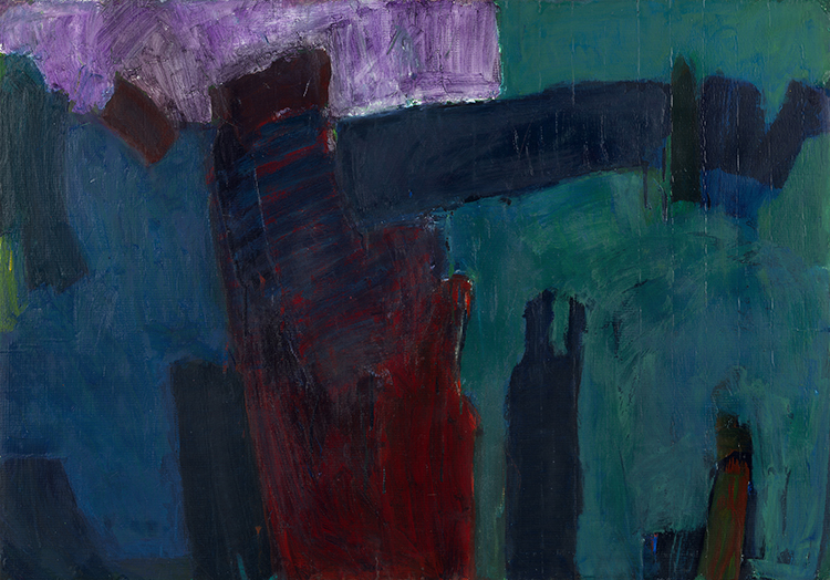 Stuart Bush Studio Blog, Isle D'Hollander, In and out of abstraction