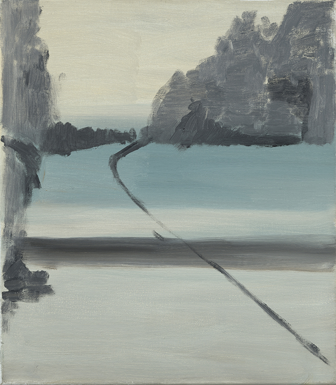 Stuart Bush Studio Blog, Isle D'Hollander, In and out abstraction