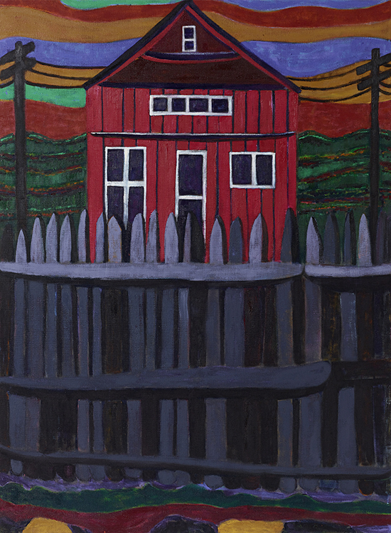 Stuart Bush Studio Blog Tal R Red House, What I see in Tal R's paintings