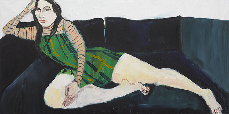 Chantal Joffe, Stuart Bush Studio Blog