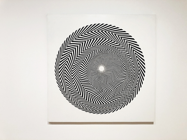 Bridget Riley, stuart bush, art exhibitions london