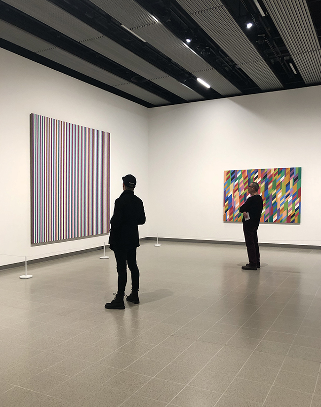 Bridget Riley art, stuart bush, art exhibitions london,