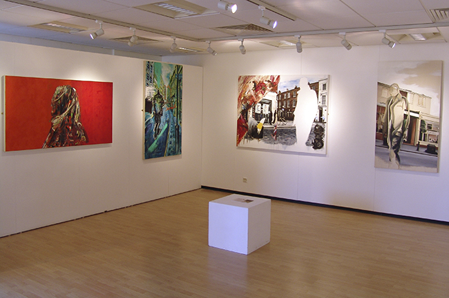 Stuart Bush Rugby Art Gallery and Museum installation shot 650px