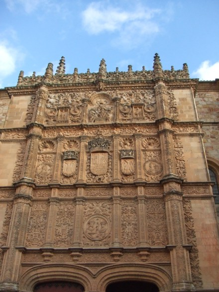 Facade of the University of Salamanca