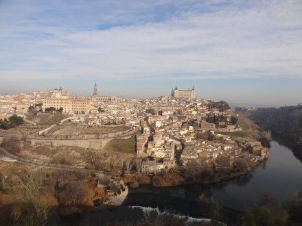 Toledo from the outskirts