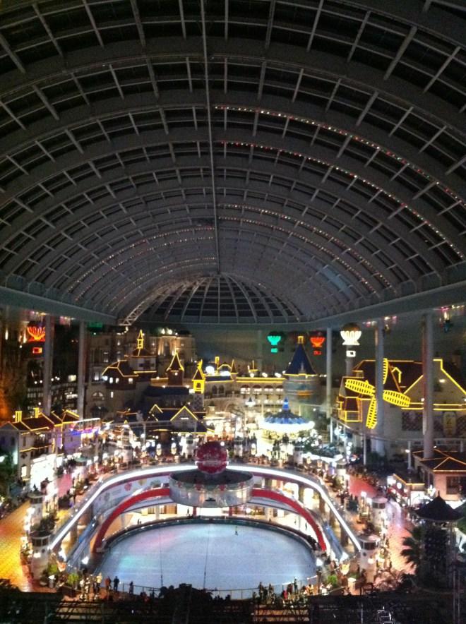 Indoor of Lotte World