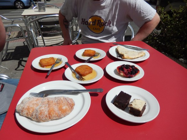 Just a sampling of Spanish pastries I have already tried
