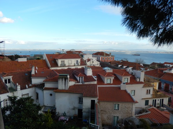A beautiful view of Lisbon