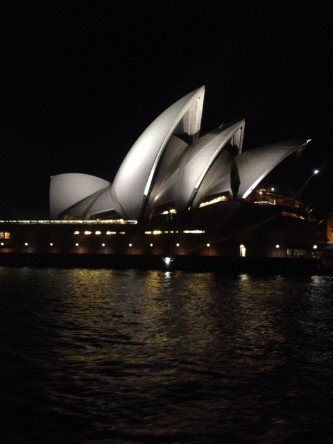 Sydney Habour and Opera House' Nemo isn't here, but maybe we'll see Dory.