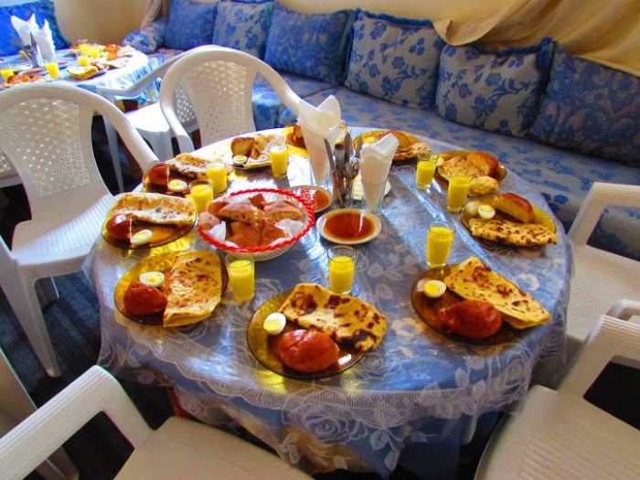 Breakfast in Berber Home, Near Azrou, Morocco, White- Photo 2