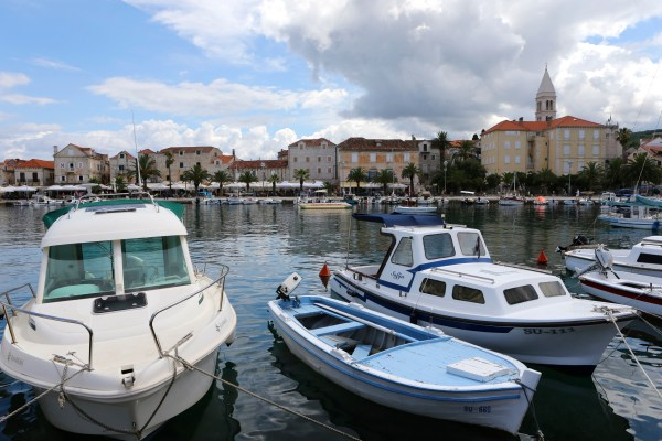 Harbor, Supetar, Croatia, Erdenberger