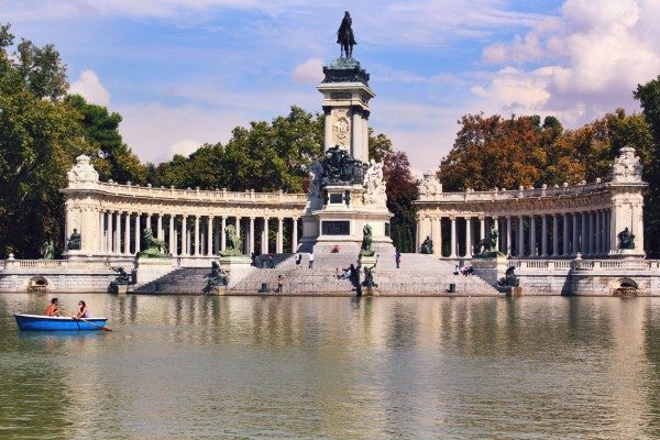 Retiro Park, Madrid, Spain.