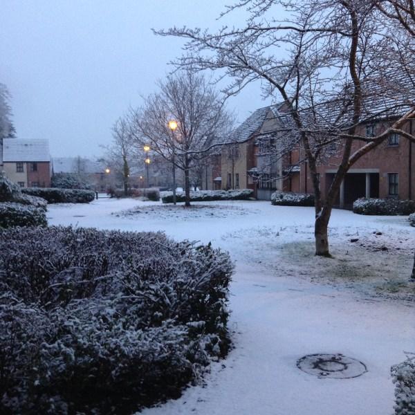 Snow photo, Limerick, Ireland, Smaby, photo 2