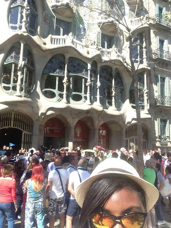 Gaudi House, Barcelona, Spain, Palmer, Photo 2