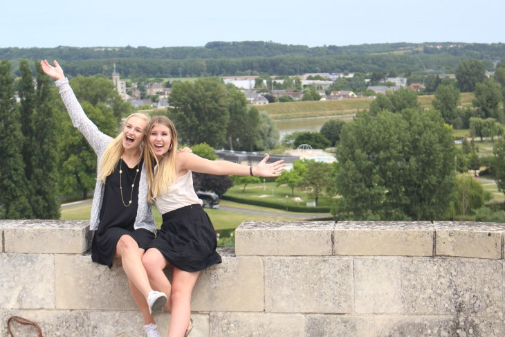 Amboise is another famous chateau in the Loire Valley even though 80 percent of it was destroyed!