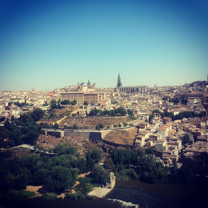 A view of Toledo, Spain.