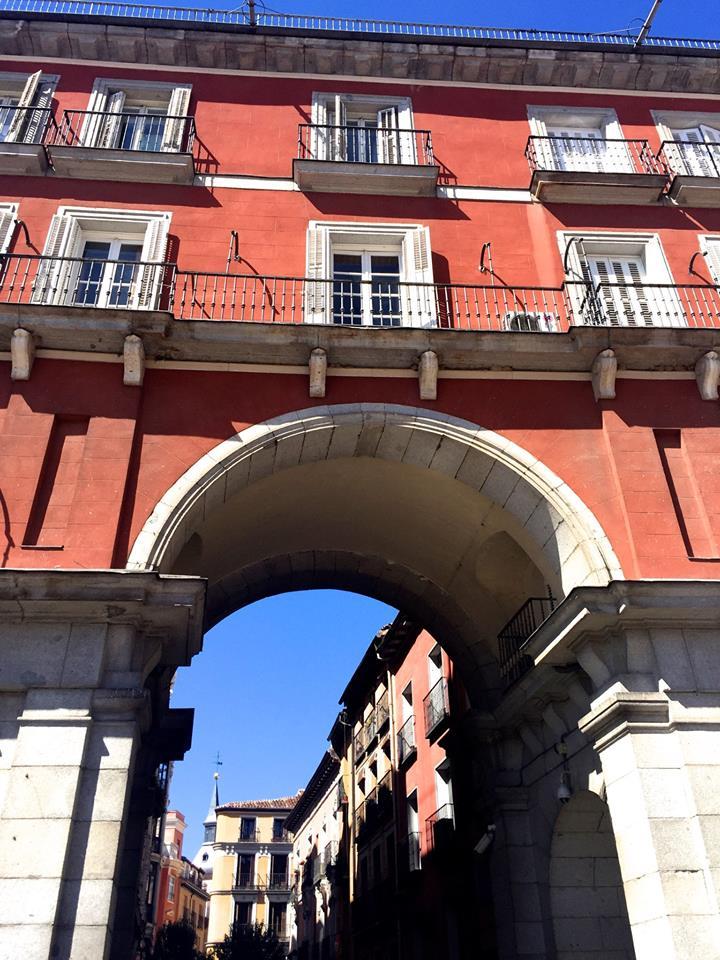 Side streets of Plaza Mayor