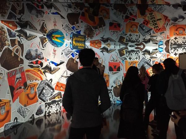 LV Exhibition, London, UK, Dowd 2