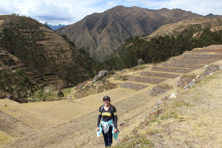 View of part of the Sacred Valley