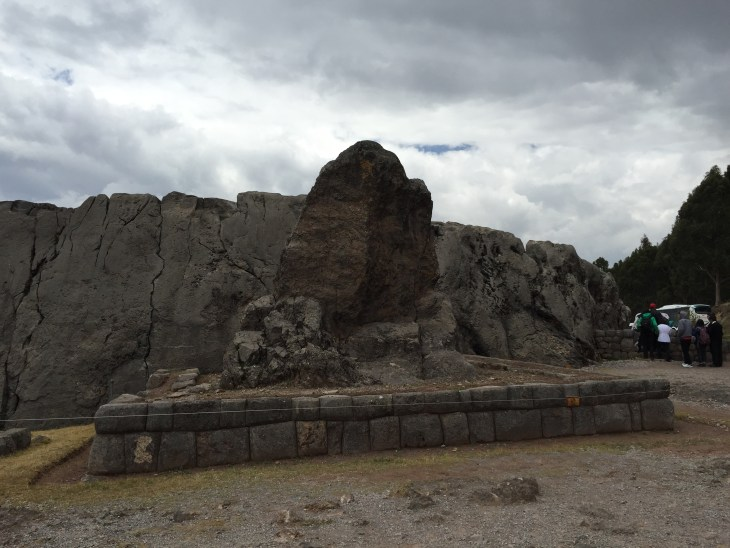 Part of Qenqo temple