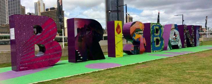 Brisbane sign, Brisbane, Australia - Barker - Photo 10