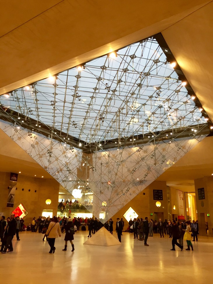 The famous 'La Louvre' museum is free to students in Paris. I can go to the Louvre museum whenever I have some free time during the day or just whenever I feel like it. This is one of many perks of being a student in Paris.