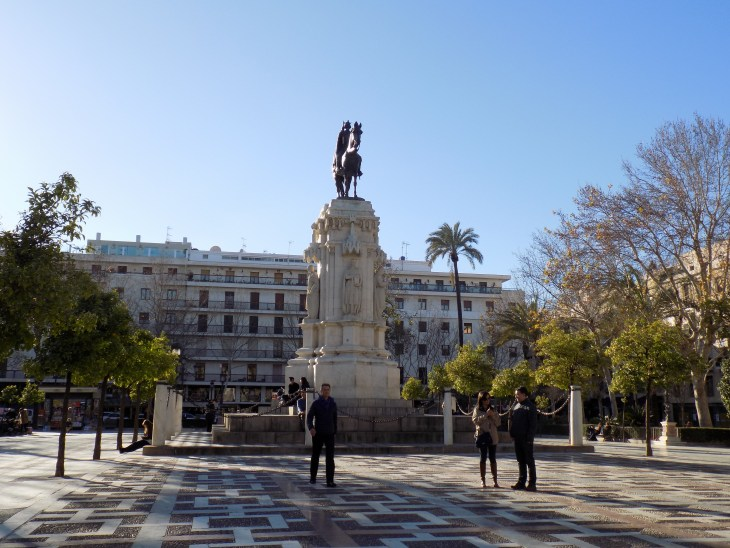Beautiful plaza located in El Centro.