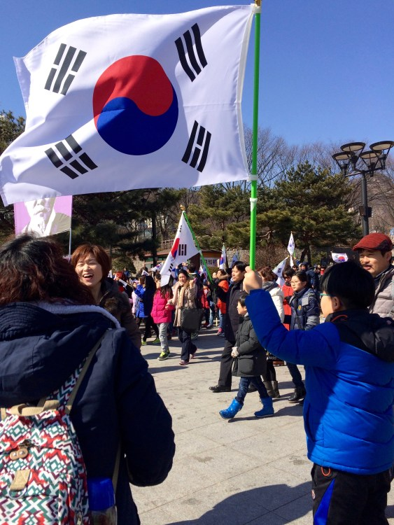 No need for fireworks and hot dogs on Korean Independence Day!