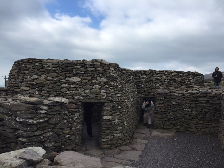 These stone beehive huts offer visitors a glimpse of the past