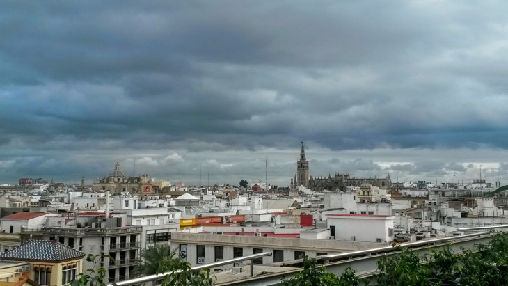 You can see the Giralda in almost any skyline picture of Seville.
