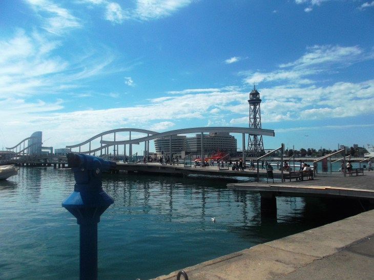 This is a breathtaking view I stumbled upon when getting lost in Barcelona!