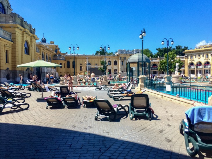Baths, Budapest, McKenzi - 2