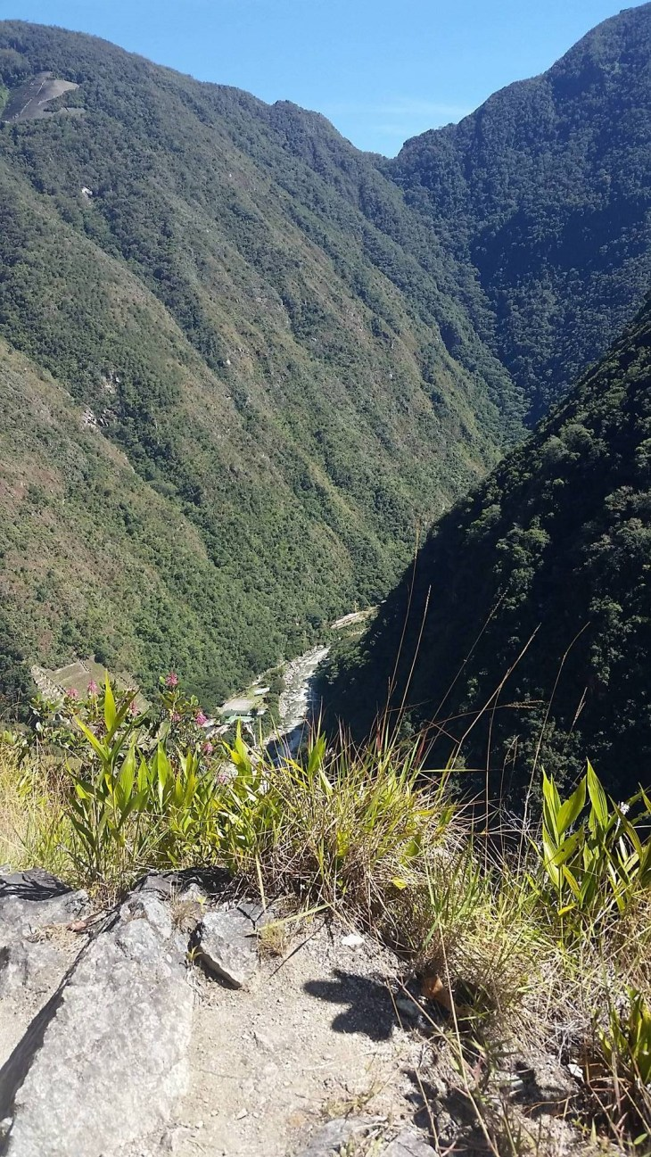 A beautiful view from the Inka Trail on the way to Machu Picchu!