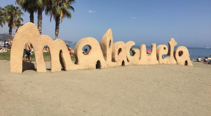 The beautiful Malagueta Beach.