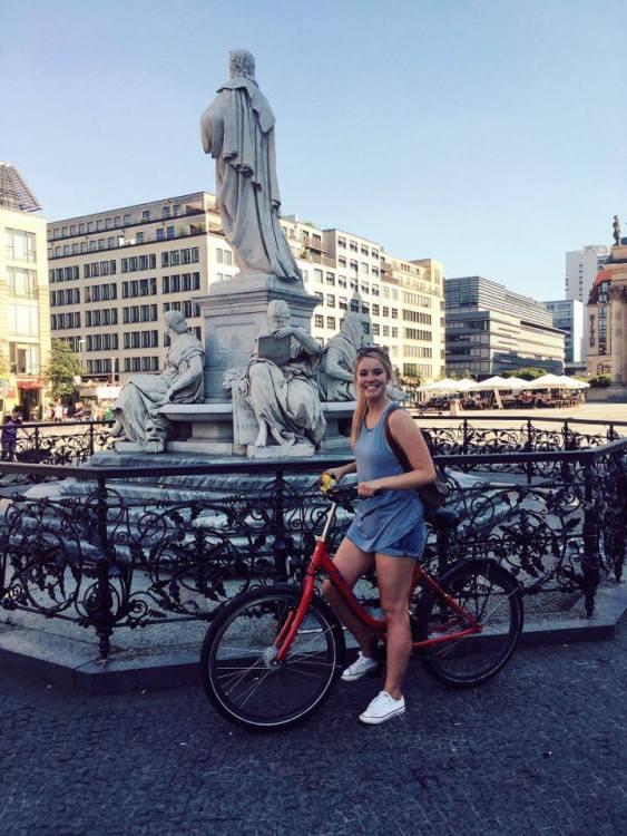 A bike tour of Berlin!